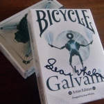 Received the Bicycle Galvanic deck. 3D futuristic design.