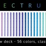 Received Bicycle Spectrum deck. Multicolor magic.