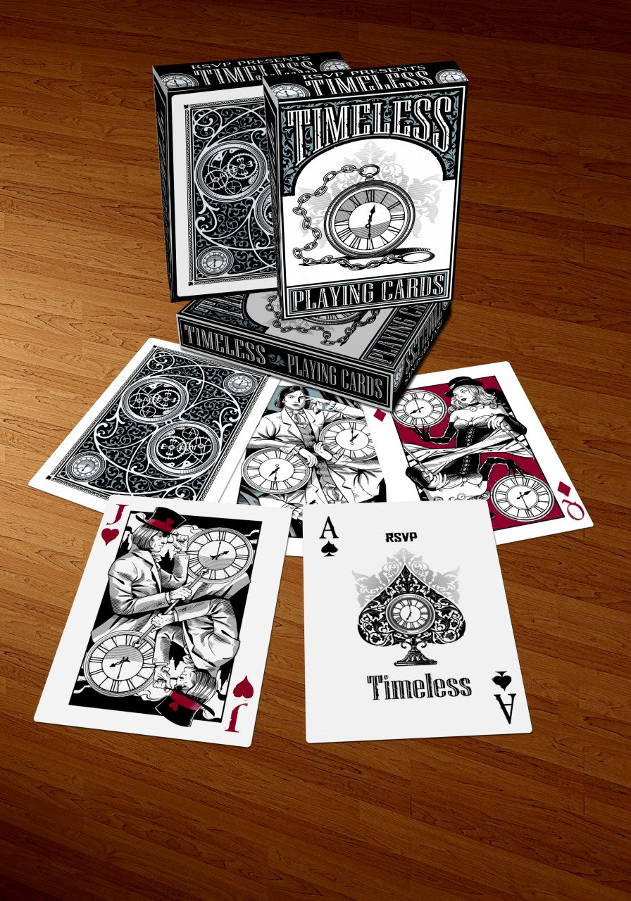 Card Deck With Guidebook By: Dark Deco And Timeless, The New Decks By RSVP