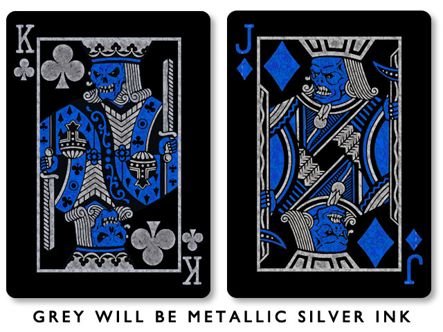 Bicycle Quicksilver playing cards are designed by Russell Kercheval Review