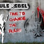 Urban Punk Bicycle Deck. The most Rebel deck in the world