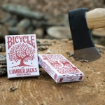 "Bicycle ""The Lumberjacks"" deck. More wood!"