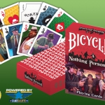 Nothing Personal Gangsters Bicycle Playing Cards. Whatch the Mafia