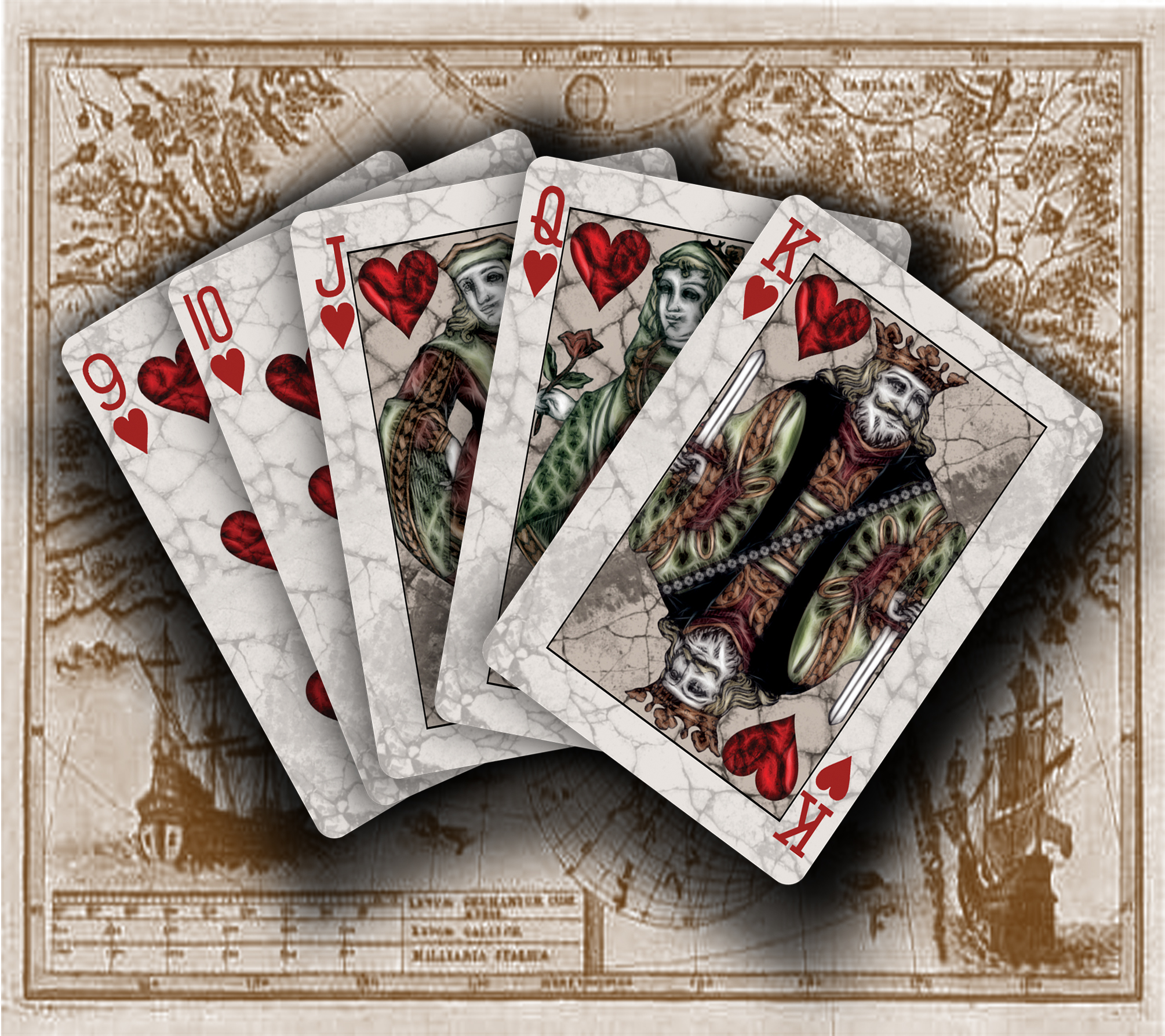 bicyclevoyagerhearts max playing cards. Black Bedroom Furniture Sets. Home Design Ideas
