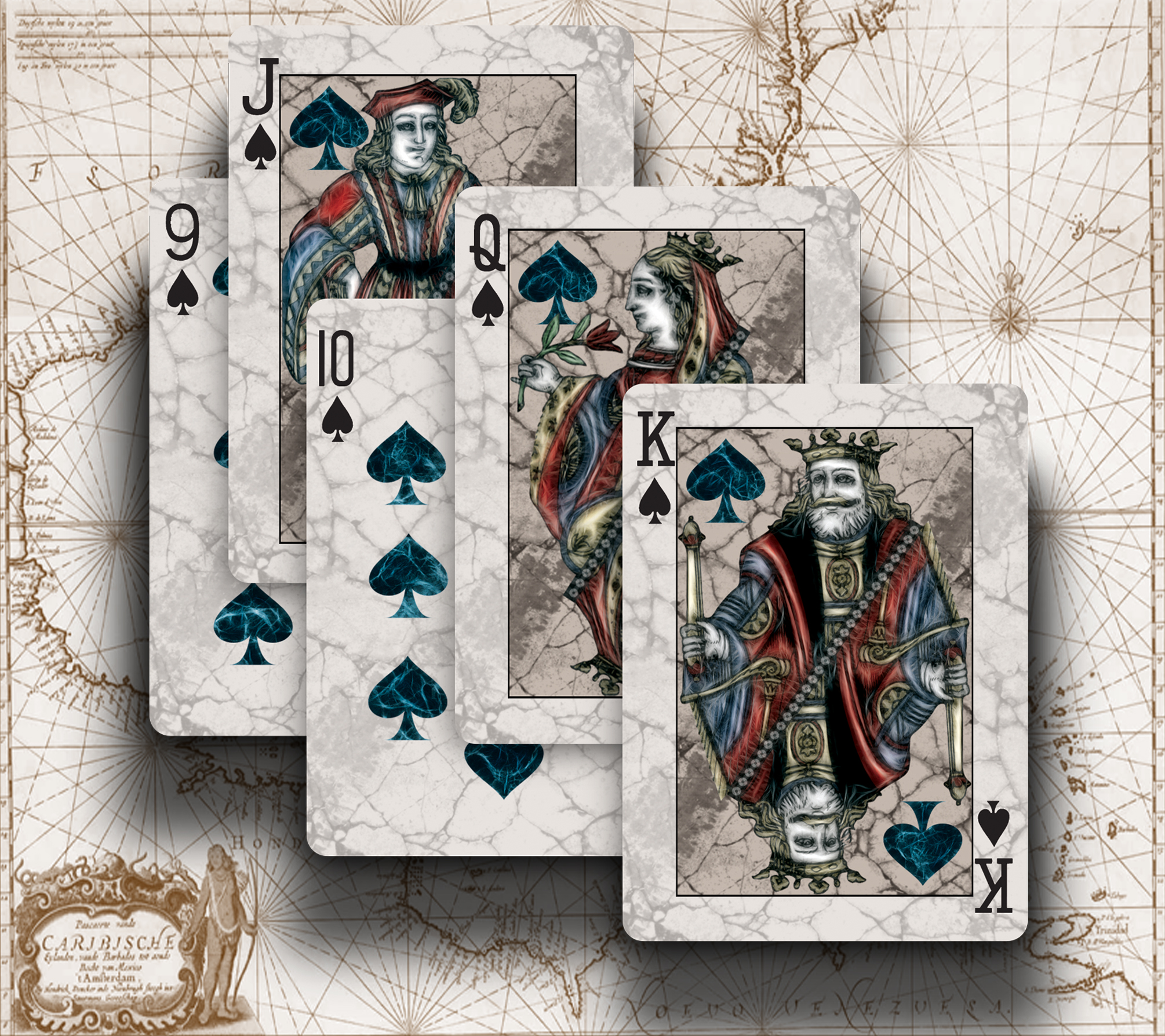 bicyclevoyagerspades max playing cards. Black Bedroom Furniture Sets. Home Design Ideas