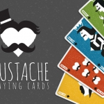 Mustache Playing Cards: a new and fun proposal of Vanda