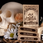 Bicycle Calaveras. The mexican revolution and the Day of the Dead