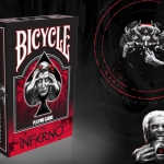 Dante's Inferno Bicycle deck. The Divine Comedy