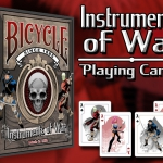 Instruments of War Bicycle Deck. Comic and playing cards, the perfect combination