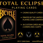 Bicycle Total Eclipse playing cards