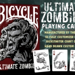 Ultimate Zombie Bicycle Playing Cards. You can be a zombie too