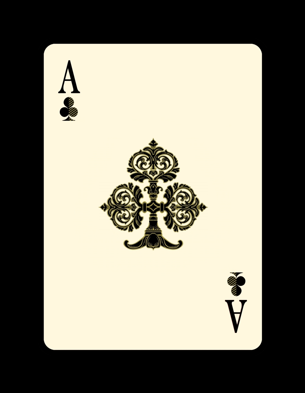 Venexiana_Ace of Hearts med - Max Playing Cards