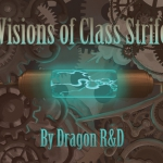 Visions of Class Strife. Two new Steampunk themed Bicycle decks