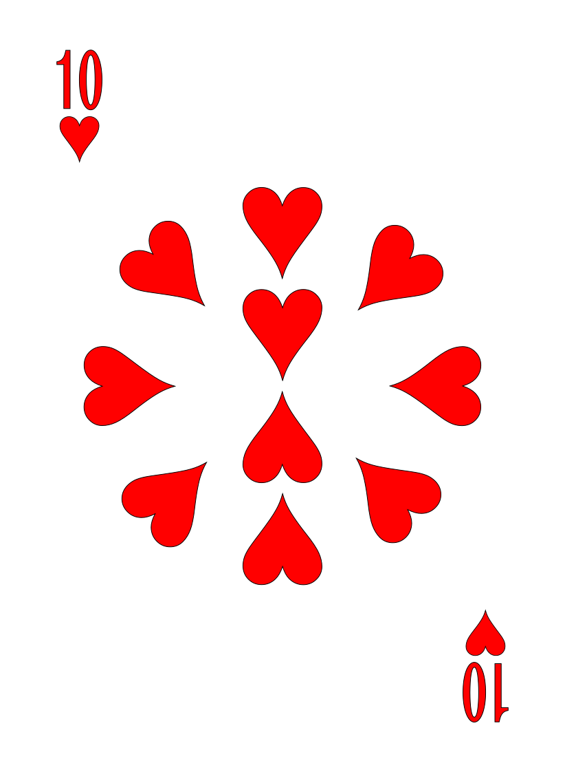 Hearts – 2 - Max Playing Cards