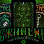 NEW Cthulhu Bicycle decks by Dann Kriss Games. The myth strikes back