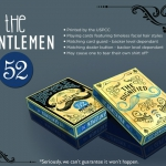 The Gentlemen 52 Bicycle Playing Cards. What a furry deck!
