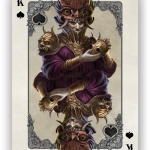 "Bicycle ""Kingdoms of a New World"" decks. Fantastic fantasy art"