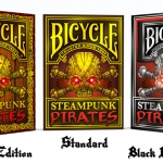 Bicycle Steampunk Pirates: three decks and five days left