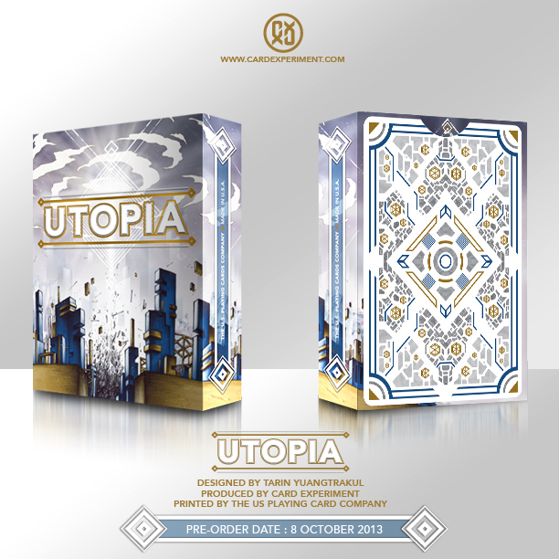 New Orders Deck New Utopia Deck by Card
