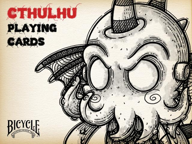 Bicycle Cthulhu Deck By Cthulhu Project Too Much Cthulhu I Dont