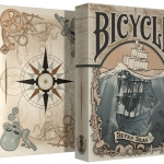 Bicycle Seven Seas deck. A real nautical adventure experience