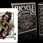 Bicycle Steampunk Goggles deck. Playing Cards to get a close-up view