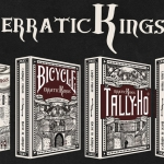 Erratic Kings Playing Cards. The most popular USA decks with a new and fresh design