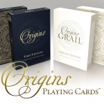 Origins. Playing cards history and tradition in two modernly designed decks