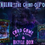CTHULHU: The Great Old One. Game and Bicycle deck. Exclusive images
