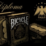Bicycle Diploma deck by Eagle Playing Cards. Beautiful and elegant