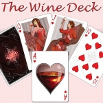 Wine deck by AlienInk. From the vineyard to your playing table. Printed by Pr1me
