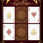 Bicycle Excellence deck. French refinement made in the USA