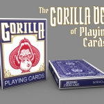 The Gorilla Deck. The only playing cards in the world that love bananas