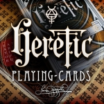 Heretic Playing Cards. The elements of alchemy and the mystery of geometry