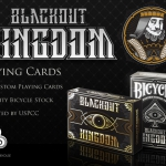 Blackout Kingdom Playing Cards. Poor and wealthy together against a mysterious force