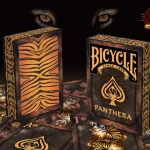 Bicycle Panthera Playing Cards. Get them before they are extinct