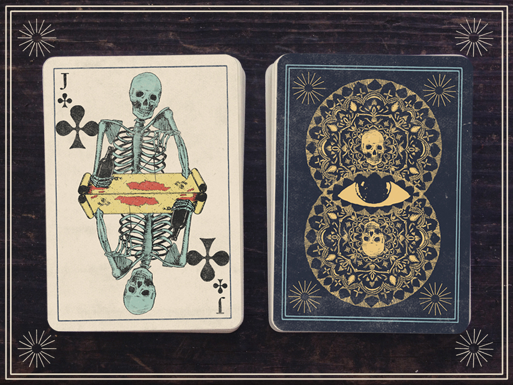 Vintage Style Playing Cards in Vintage Style Cards