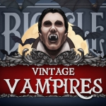 Vintage Vampire Bicycle deck. Let these cards sink their teeth into your neck