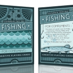 Fishing For Compliments Playing Cards. A freshwater deck