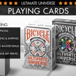 Ultimate Universe Playing Cards. Oriental tradition and mythology reinterpreted with digital 2D images