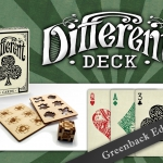 Different deck Green Back Edition. Something different, more than a simple color change, a matter of L.U.C.K.