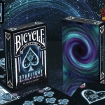 Bicycle Starlight Black Hole Deck. From the Big Bang to the poker table
