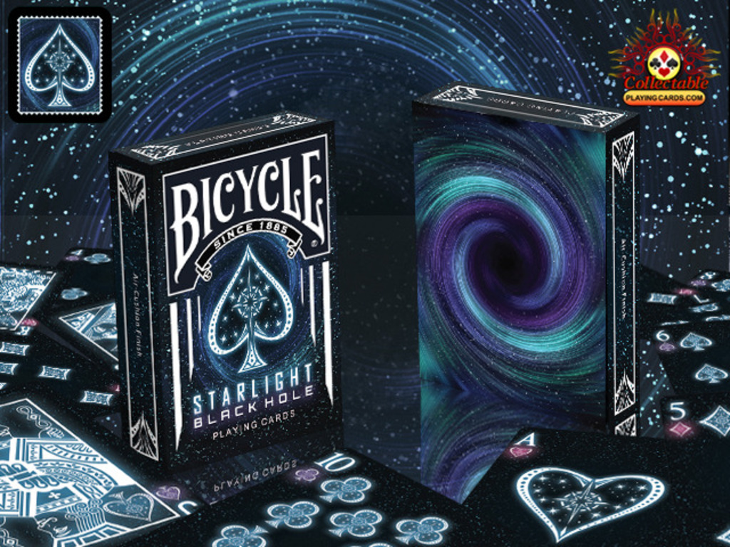 Bicycle starlight black hole deck from the big bang to the poker