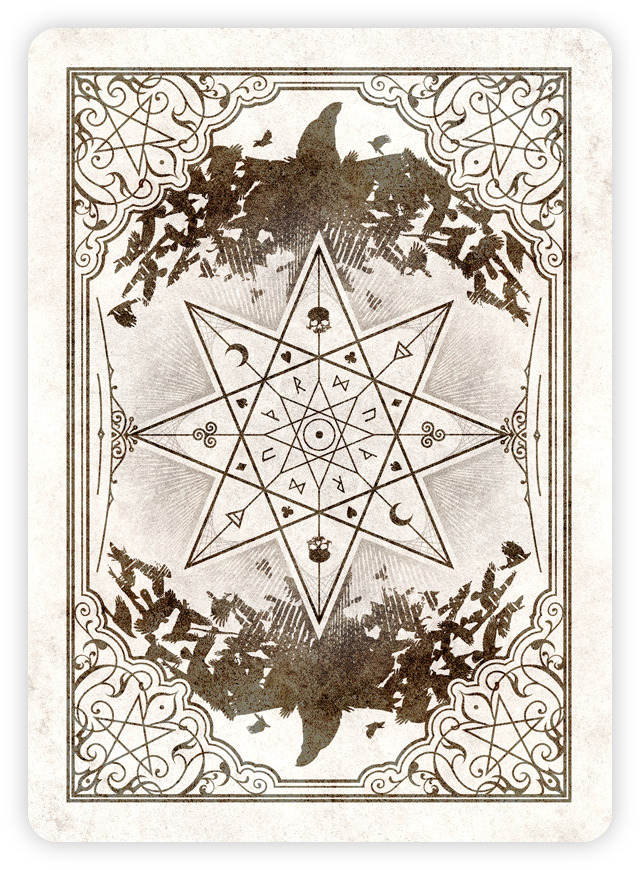 The Coven Playing Cards Beautiful Witches Hiding Their