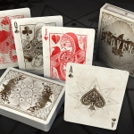 The Coven Playing Cards. Beautiful witches hiding their secrets behind a mask