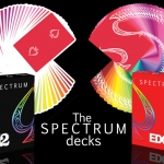 Spectrum 52 and Spectrum Edge. The new brothers of the Spectrum Bicycle deck by Cosmo Solano