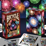 Bicycle Fireworks Deck. Playing Cards for the perfect Grand Finale