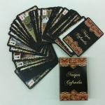 Naipes Cofrades Playing Cards. Imagery of Sevillian fervor in a poker deck