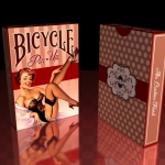 Bicycle Pin-Up Playing Cards. Beautiful and suggestive but strong and independent