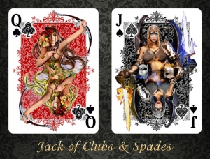 Are Playing cards with fantasy naked pictures idea